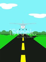 Airport Runway,Cartoon,Airp...