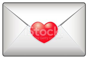 Envelope,Heart Shape,Vector...