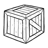 wooden box clipart. wooden box clipart