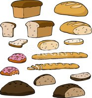 Bread,Ilustration,Wholegrai...