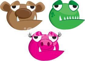 Eyelash,Bear,Frog,Wild Boar...