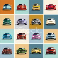 Car,Front View,Vector,Auto ...