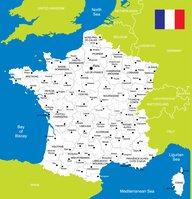 Map,France,Cartography,Norm...