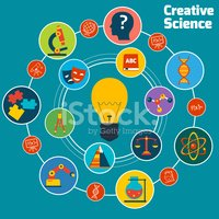 Creative science concept