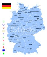Map Of Germany Clipart Images High Res Premium Images