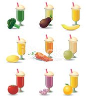 Smoothie,Glass,Cream,Grape,...
