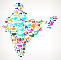 Cartography,Map,India,Gossi...