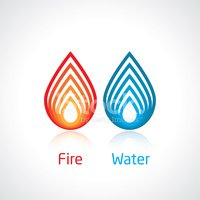 flame and water