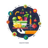 Infographic,Vector,Food,Col...