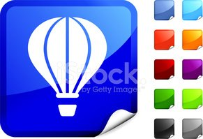 Hot Air Balloon,Symbol,Comp...