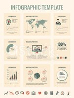 Infographic,Service,Global,...