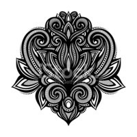 Pattern,Design,Tattoo,Arabi...