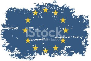Grunge,European Union Flag,...
