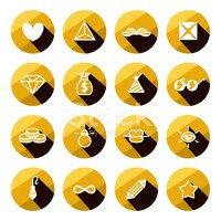 Triangle,Gold Colored,Curre...