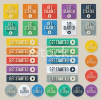 Interface Icons,get started...