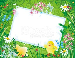Greeting Card,Easter,Flower...
