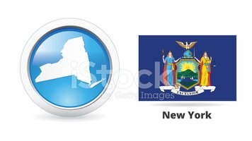 New York State,Symbol,Vecto...