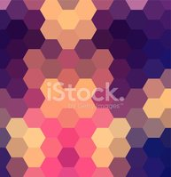 Geometric Shape,Purple,Back...