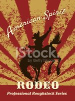 Cowboy,Horse,Rodeo,Abstract...