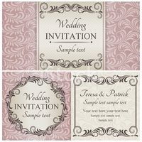 Invitation,Wedding,Honeymoo...