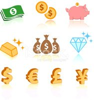 Diamond,US Paper Currency,M...