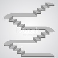 Staircase,Vector,Isometric,...