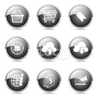 Interface Icons,Black Colo...