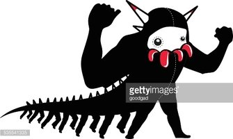 monster with many legs and scorpion arms stock vectors fried chicken leg clipart chicken leg image clipart