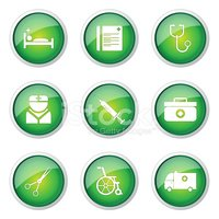 Vector,Round Button,Glossy ...