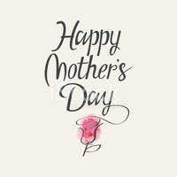 """The words """"Happy Mother's Day"""""""