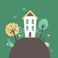 House,Hedgehog,Butterfly - ...