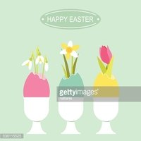 Egg,Cheerful,Plant,Easter,M...