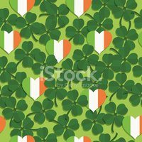Clover,Pattern,Irish Cultur...