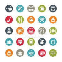 Icon Set,Food And Drink,Vec...