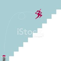 Staircase,Success,Businessm...
