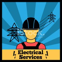 Electrician,Painted Image,P...