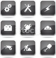 Vector,Glossy Button,Interf...