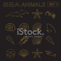 Symbol,Set,Cartoon,Animal,V...