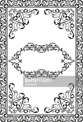 Victorian Design Elements victorian design elements and page decoration stock vectors
