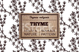 Thyme,Packaging Design,Labe...