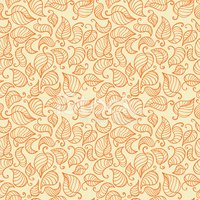 Wallpaper Pattern,Orange Co...
