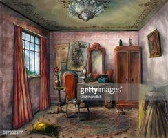 Domestic Room,Victorian Sty...