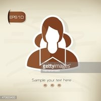 Student design on brown background,clean vector