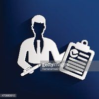 Businessman design on blue background,clean vector