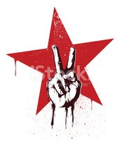 Peace Sign,Star - Space,Rev...