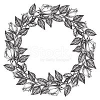 Floral Pattern,Drawing - Ac...