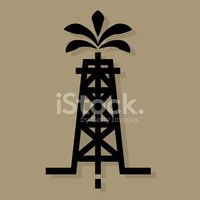Fossil Fuel,Oil Pump,Symbol...