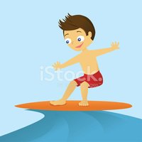 Surfing,Little Boys,Surfboard…
