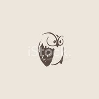 Symbol,Owl,Craft,Sketch,Old...