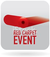 Invitation,Red Carpet,Red,C...